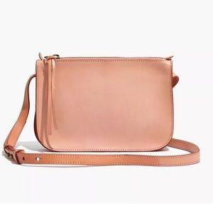 Madewell Simple Crossbody Bag in Blush Peach
